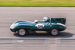 Jaguar-D-Type Raceauto Royalty-vrije Stock Fotografie