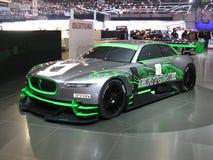Jaguar de Bertones en Ginebra Imagen de archivo libre de regalías