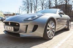 Jaguar-de F-Type coupé S, sluit omhoog Royalty-vrije Stock Afbeelding