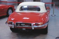 Jaguar de type e photo libre de droits