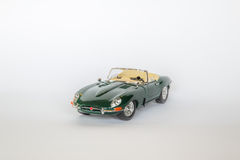 Jaguar de type e photo stock