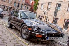 Jaguar de type e Images stock