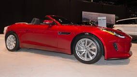 Jaguar 2014 de type f images stock