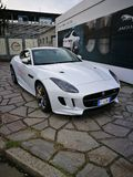 Jaguar del coche de seguridad Fotos de archivo