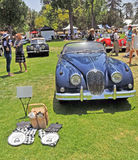 Jaguar Drop Head Coupe Royalty Free Stock Photography