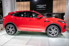 Jaguar-e-Tempo auto royalty-vrije stock fotografie