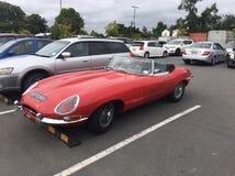 Jaguar E-typ 1961 royaltyfri foto