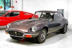 Jaguar E-typ Arkivbilder