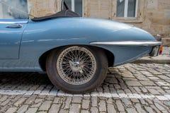 Jaguar E-typ 4 2 Fotografering för Bildbyråer