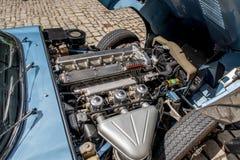 Jaguar E-typ 4 2 Arkivbild