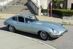Jaguar E-typ XK-E kupé Arkivfoton