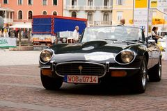 Jaguar E-Type, 1972 Royalty Free Stock Images