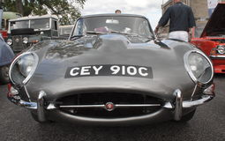 Jaguar E Type Royalty Free Stock Photography