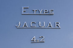 Jaguar E Type 4.2 Royalty Free Stock Photo
