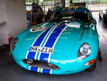 Jaguar-e-Type Stock Foto