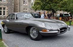 Jaguar E type Royalty Free Stock Image