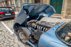 Jaguar E-Type 4.2 Stock Images