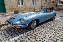 Jaguar E-Type 4.2 Royalty Free Stock Image