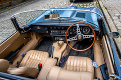 Jaguar E-Type 4.2 Stock Image