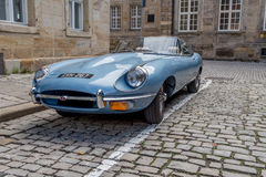 Jaguar E-Type 4.2 Royalty Free Stock Photography