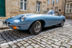 Jaguar E-Type 4.2 Royalty Free Stock Photo