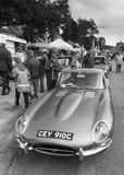 Jaguar E-Type Royalty Free Stock Images