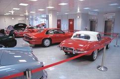Jaguar E-type and Jaguar XJS Royalty Free Stock Images