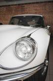 Jaguar E-Type white headlight Royalty Free Stock Image