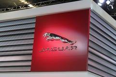 Jaguar-embleem stock foto's