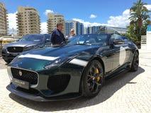 Jaguar exhibition of new models Stock Image