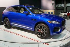 Jaguar F-hastighet övergång Arkivfoton