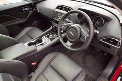 Jaguar F-Pace 2016 Interior Royalty Free Stock Photo
