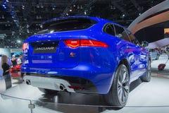 Jaguar F-Pace Stock Photo
