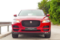 Jaguar F-Pace 2016 Test Drive Day Stock Photo