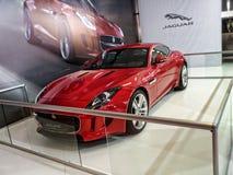 Jaguar F-typ kupé Arkivbilder