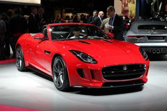 Jaguar F-Type Royalty Free Stock Image