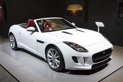 Jaguar F-Type Royalty Free Stock Images