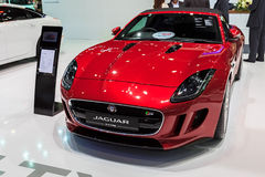 JAGUAR F-TYPE car on display Stock Image