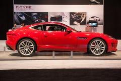 Jaguar F-Type at the Chicago Auto Show Stock Photos