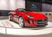 2016 Jaguar F-Type Royalty Free Stock Photo