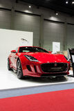 Jaguar f-type coupe Stock Photography