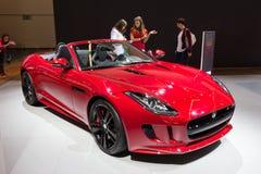 Jaguar F-Type Royalty Free Stock Image