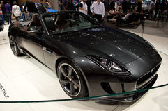 Jaguar-F-Type Genève 2014 Royalty-vrije Stock Afbeelding
