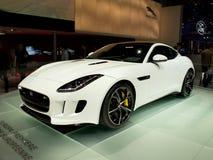 Jaguar-F-Type Genève 2014 Stock Foto's