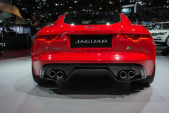 Jaguar F-Type R  car on display at the LA Auto Show. Stock Image