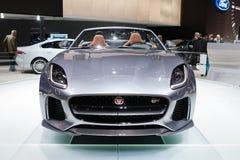 Jaguar-F-Type SVR Royalty-vrije Stock Foto