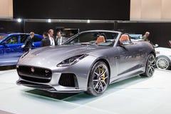 Jaguar-F-Type SVR Royalty-vrije Stock Fotografie