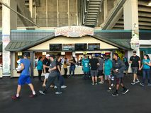 Dick`s Wings, EverBank Field, Jacksonville, Florida Stock Photography