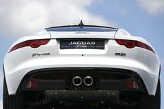 Jaguar. Fast car Stock Photo