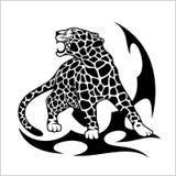 Jaguar Flame Tattoo Stock Photos
